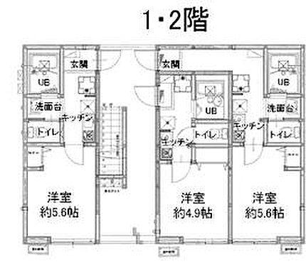 アパート-昭島市玉川町3丁目 1階、2階