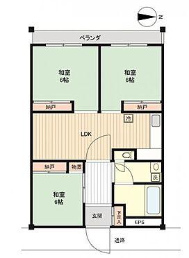 マンション(建物一部)-奈良市杉ヶ町 間取り