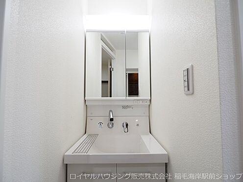 中古マンション-千葉市美浜区稲毛海岸3丁目 シャワー式洗面化粧台です!