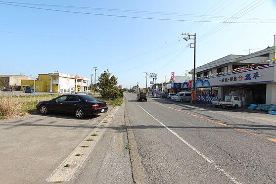 住宅付店舗(建物全部)-長生郡一宮町東浪見 国道と周辺の店舗風景