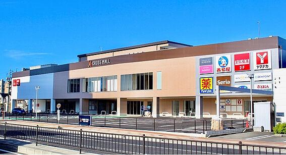 土地-豊田市平芝町2丁目 クロスモール陣中店 350m(徒歩約5分)