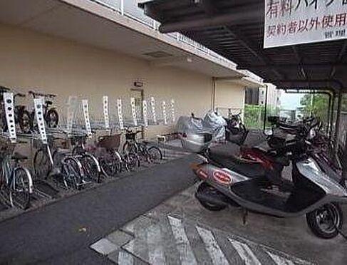 マンション(建物一部)-神戸市北区泉台1丁目 屋根付きで雨の日も安心