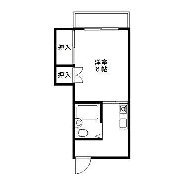 アパート-宮崎市西高松町 間取り