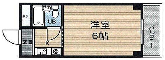 マンション(建物一部)-大阪市淀川区十三本町2丁目 単身者向けの1Rプラン