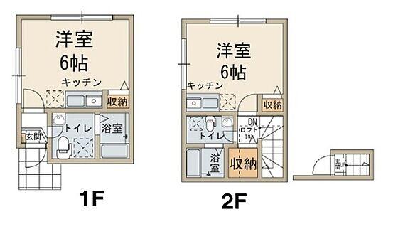 アパート-横浜市神奈川区浦島町 間取り