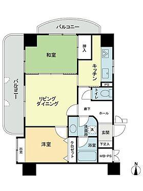 中古マンション-札幌市西区発寒七条5丁目 間取り
