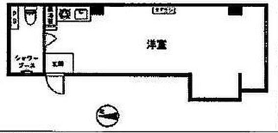 マンション(建物一部)-新宿区新宿1丁目 間取り