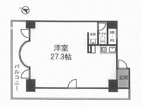 マンション(建物一部)-横浜市保土ケ谷区帷子町2丁目 間取り
