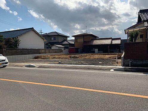 新築一戸建て-豊田市高美町7丁目 こちらは前面道路です。