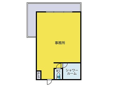 事務所(建物一部)-藤沢市大鋸1丁目 間取り