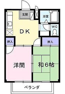 アパート-坂戸市浅羽野1丁目 間取り