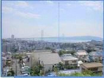 マンション(建物一部)-神戸市垂水区南多聞台8丁目 明石海峡大橋が望める眺望です!