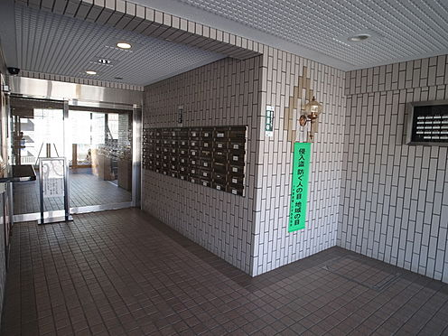 中古マンション-小平市栄町1丁目 エントランス