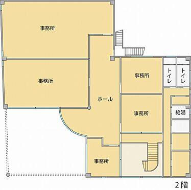ビル(建物全部)-水戸市堀町 2階間取