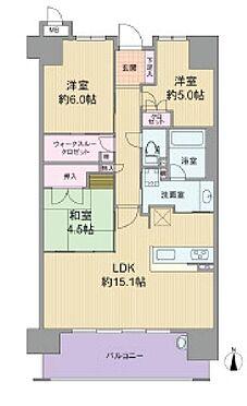 中古マンション-大阪市城東区天王田 間取り