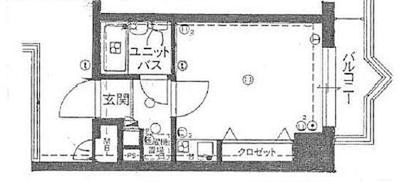 マンション(建物一部)-姫路市網干区新在家 間取り
