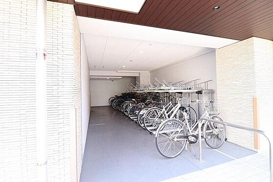 マンション(建物一部)-墨田区東駒形4丁目 駐輪場置き場。綺麗に整備されております。