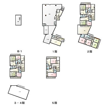 店舗付住宅(建物全部)-練馬区富士見台2丁目 間取り