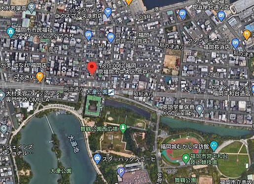 マンション(建物一部)-福岡市中央区荒戸1丁目 地図