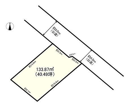 土地-多摩市一ノ宮2丁目 区画図