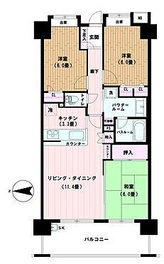 マンション(建物一部)-熊谷市鎌倉町 間取り