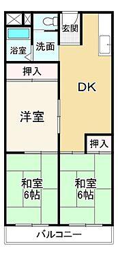 中古マンション-大阪市平野区平野宮町1丁目 間取り