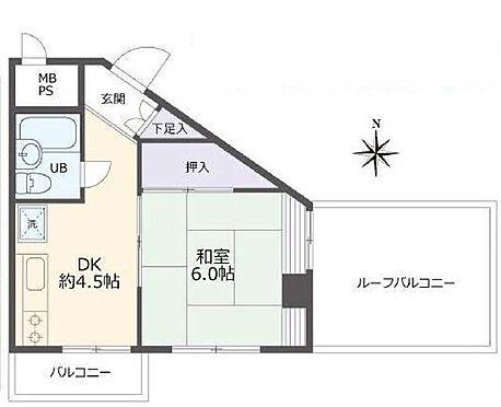 マンション(建物一部)-練馬区中村北2丁目 間取り