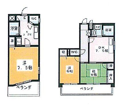 マンション(建物全部)-名古屋市守山区茶臼前 間取り
