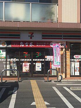 土地-鶴ヶ島市大字藤金 セブンイレブン若葉駅東口店(1290m)