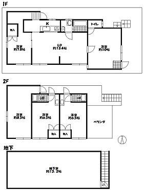 アパート-京都市伏見区深草大亀谷西寺町 1F、2LDKが1室・2F、1Rが3室・地下室有り。現況と間取りが異なる場合は、現況を優先します。