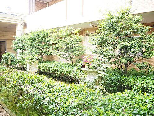 中古マンション-日野市旭が丘3丁目 緑溢れる中庭です。心が癒されますね♪