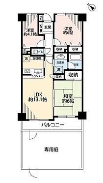 マンション(建物一部)-船橋市習志野台8丁目 3LDK・専用庭