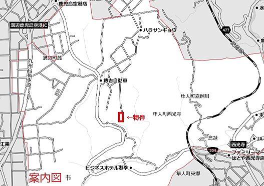 土地-霧島市隼人町西光寺 地図