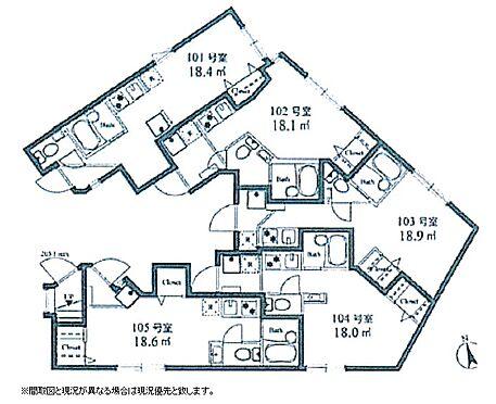 アパート-渋谷区上原2丁目 間取り