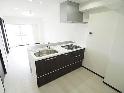 区分マンション-千葉市美浜区稲毛海岸4丁目 料理の幅が広がる浄水器付システムキッチンです!