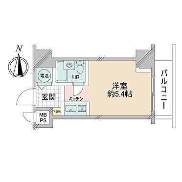 マンション(建物一部)-新宿区四谷4丁目 間取図
