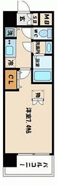 区分マンション-大阪市福島区海老江1丁目 間取り