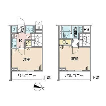 マンション(建物一部)-中野区大和町3丁目 所在階は1階と地下1階のメゾネットタイプです