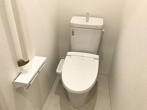 新築一戸建て-神戸市須磨区離宮前町1丁目 トイレ