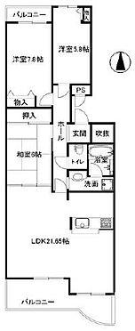 マンション(建物一部)-神戸市西区月が丘4丁目 リビングの天井高く開放的なお部屋