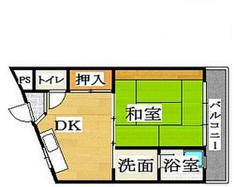 マンション(建物一部)-京都市山科区日ノ岡朝田町 3点セパレートで清潔感あり。