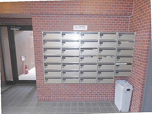 マンション(建物一部)-京都市上京区森之木町 メールボックスもあり便利です。