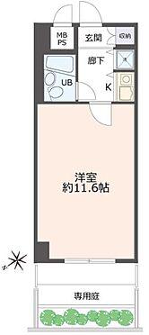 区分マンション-神戸市兵庫区永沢町2丁目 間取り