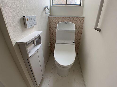中古一戸建て-知多市南巽が丘4丁目 1階トイレです