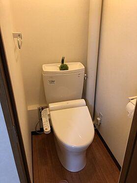 区分マンション-千葉市稲毛区黒砂台3丁目 トイレはもちろん洗浄機能付きです。