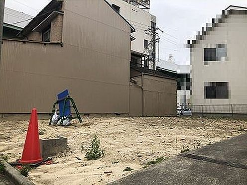 土地-名古屋市北区光音寺町字野方 整形地約32.7坪平坦です。