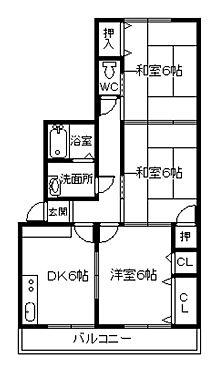 アパート-下関市前勝谷町 間取り