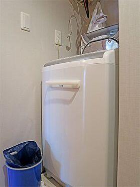 中古マンション-伊東市八幡野 〔洗濯機置場〕きちんと確保されています。