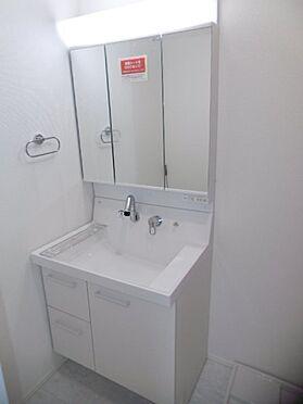 新築一戸建て-町田市小山町 3面鏡洗面化粧台