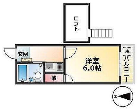 アパート-名古屋市北区喜惣治1丁目 間取り